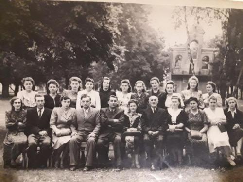 Працівники радехівської лікарні 1954р