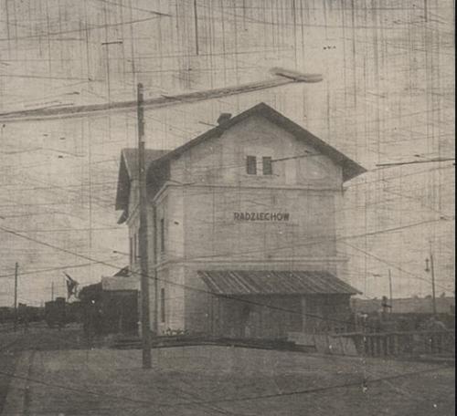 1915 рік Залізнична станція Радехів